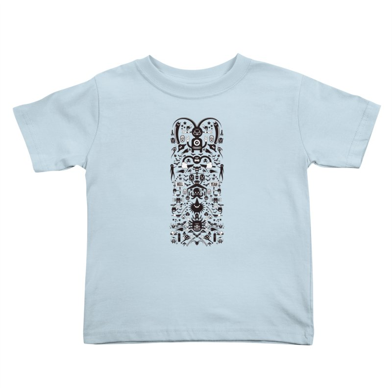 Hell Kids Toddler T-Shirt by Tony Bamber's Shop