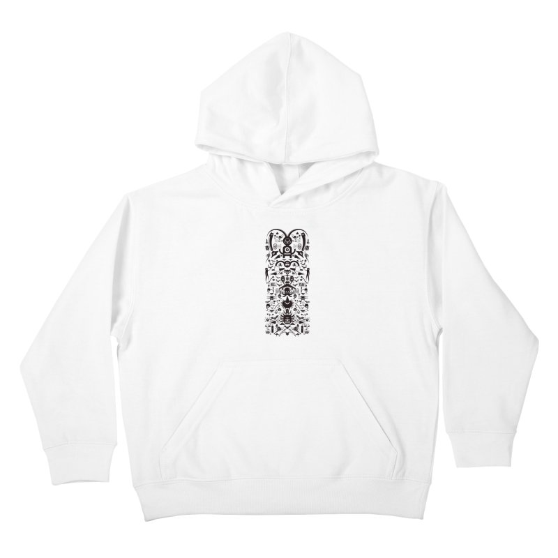 Hell Kids Pullover Hoody by Tony Bamber's Artist Shop
