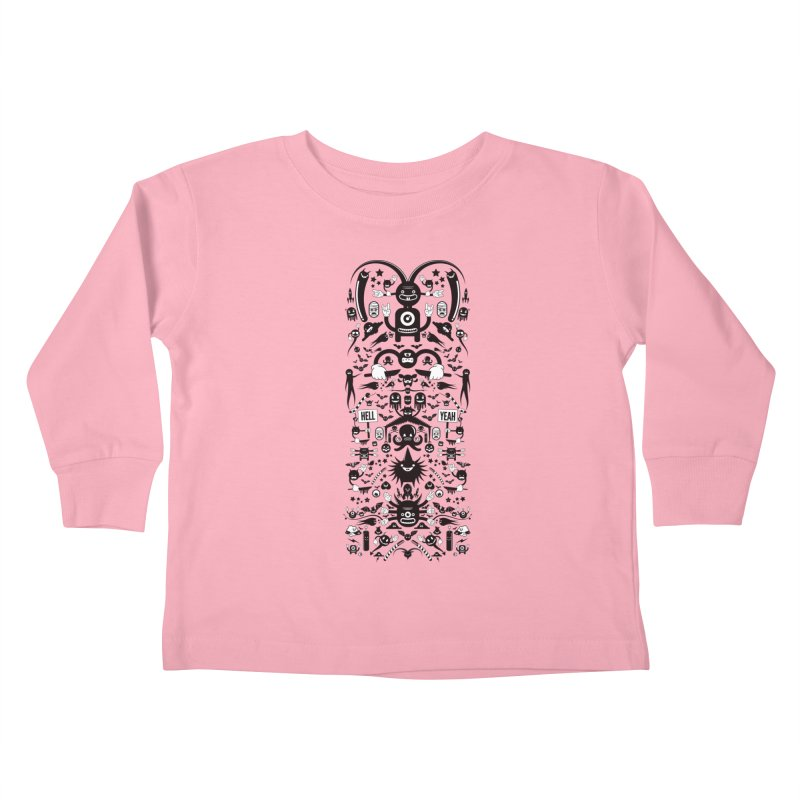 Hell Kids Toddler Longsleeve T-Shirt by Tony Bamber's Shop