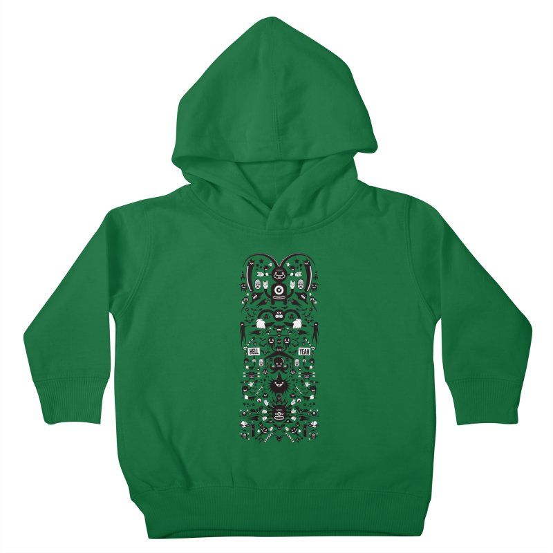 Hell Kids Toddler Pullover Hoody by Tony Bamber's Artist Shop