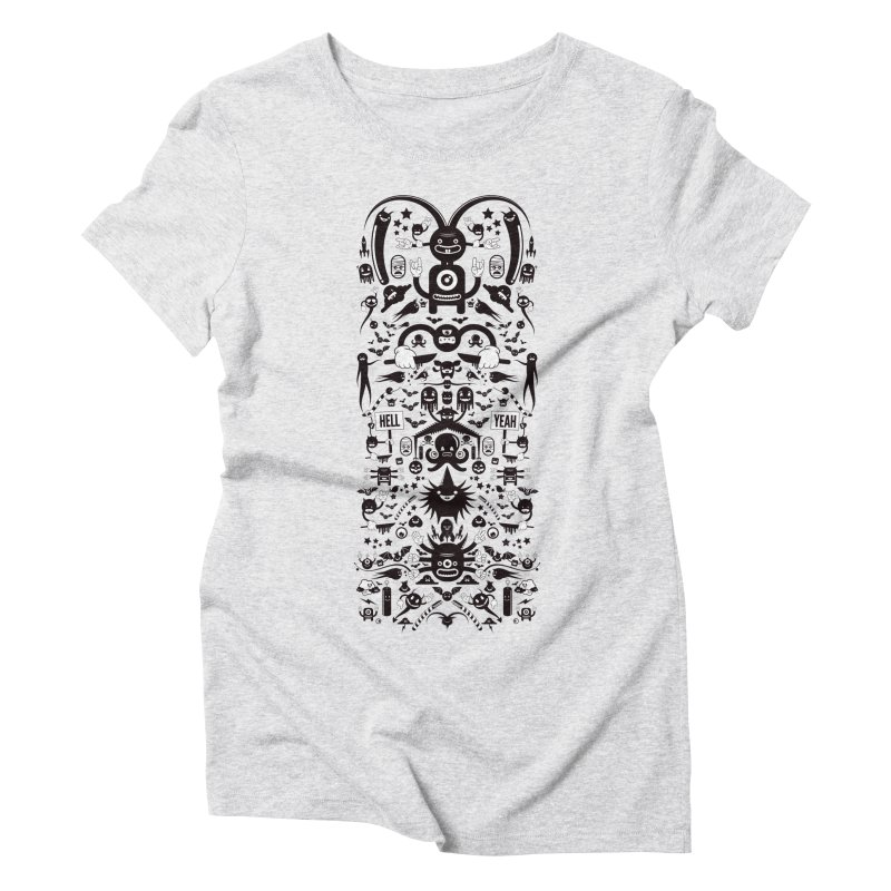 Hell Women's Triblend T-Shirt by Tony Bamber's Shop