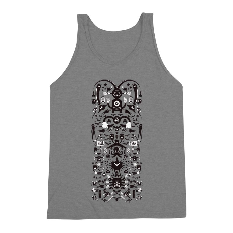 Hell Men's Triblend Tank by Tony Bamber's Shop