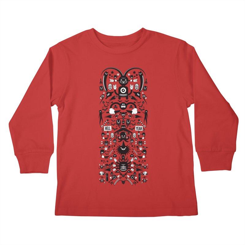 Hell Kids Longsleeve T-Shirt by Tony Bamber's Shop