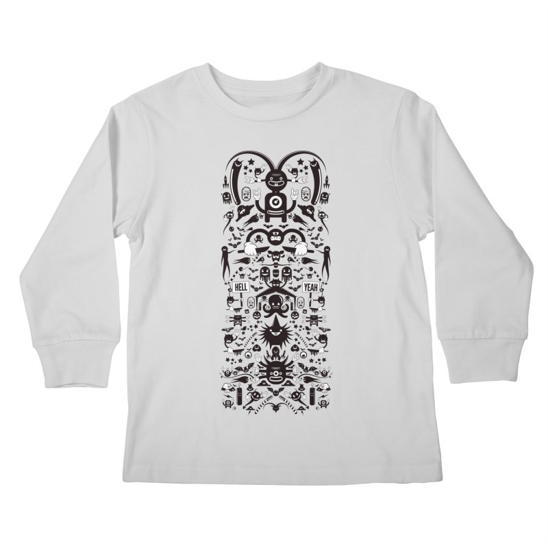 Hell Kids Longsleeve T-Shirt by Tony Bamber's Shop