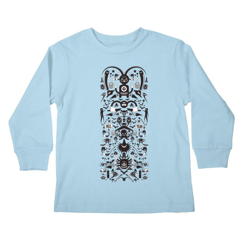 Hell Kids Longsleeve T-Shirt by Tony Bamber's Artist Shop