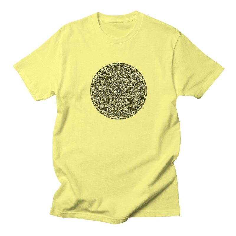 Mandala Men's T-Shirt by Tony Bamber's Shop
