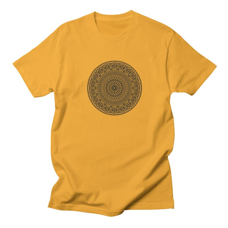Mandala Men's Regular T-Shirt by Tony Bamber's Shop