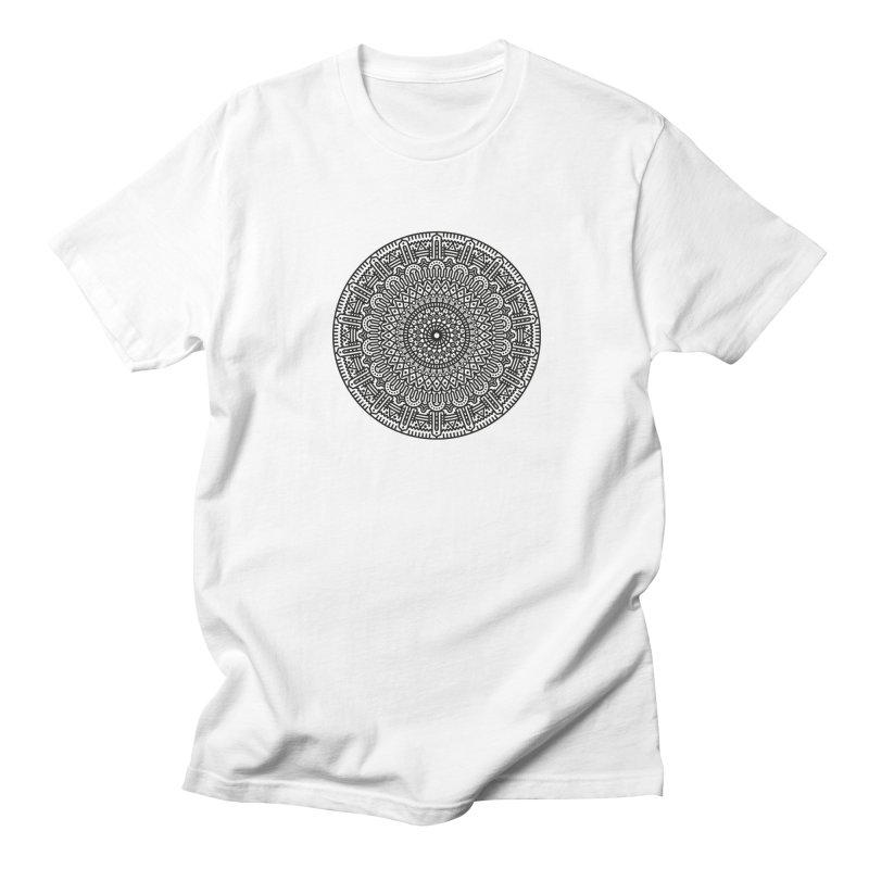 Mandala Men's Regular T-Shirt by Tony Bamber's Shop
