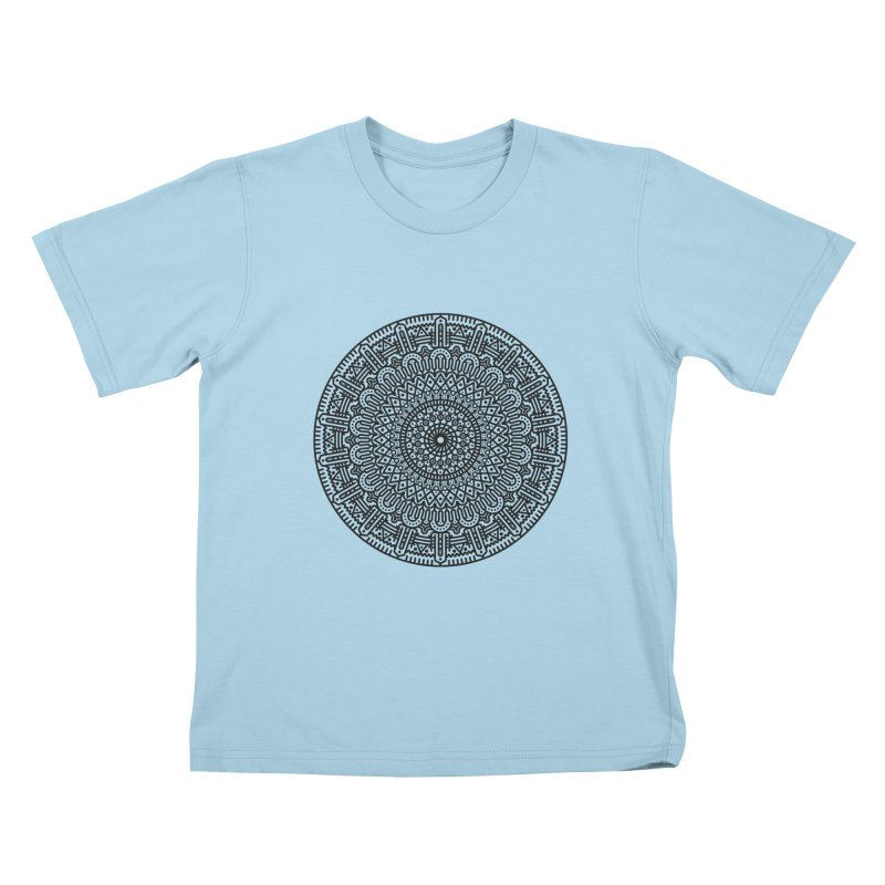 Mandala Kids T-Shirt by Tony Bamber's Shop