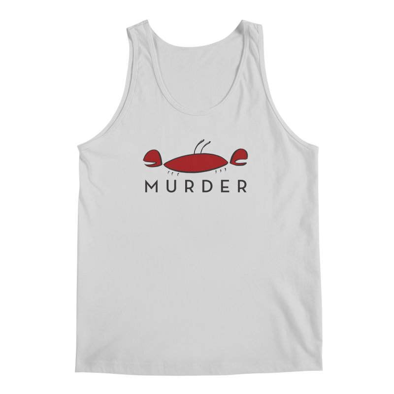MURDER CRAB Men's Tank by Tony Breed T-Shirt Designs