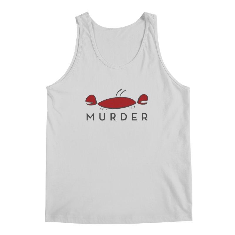 MURDER CRAB Men's Tank by Tony Breed T-Shirt Designs