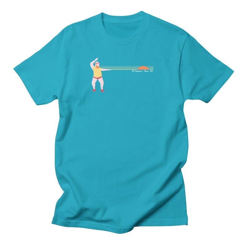 DJ Hottpants, Miami Fla. Men's T-Shirt by Tony Breed T-Shirt Designs