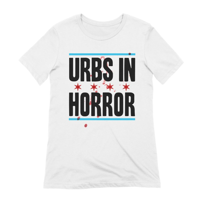 URBS IN HORROR Women's Extra Soft T-Shirt by Tony Breed T-Shirt Designs