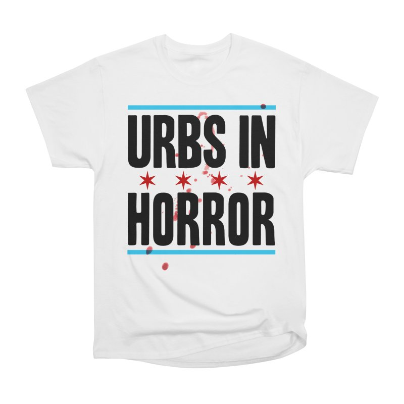 URBS IN HORROR Men's Heavyweight T-Shirt by Tony Breed T-Shirt Designs