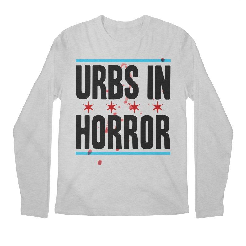 URBS IN HORROR Men's Longsleeve T-Shirt by Tony Breed T-Shirt Designs