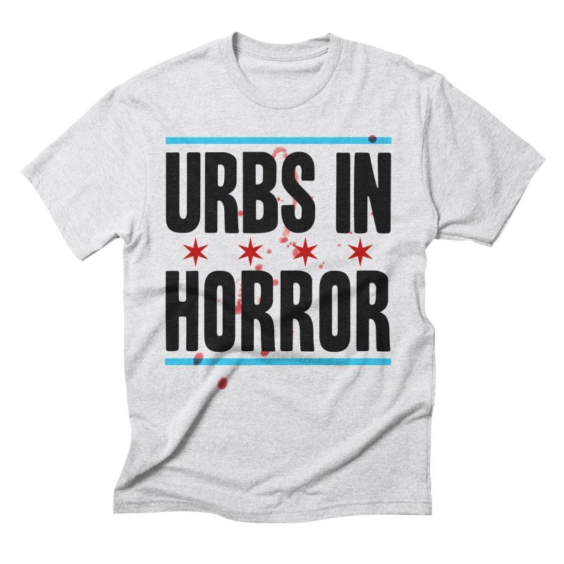URBS IN HORROR Men's Triblend T-Shirt by Tony Breed T-Shirt Designs