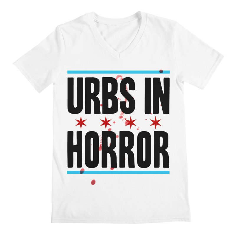 URBS IN HORROR Men's Regular V-Neck by Tony Breed T-Shirt Designs
