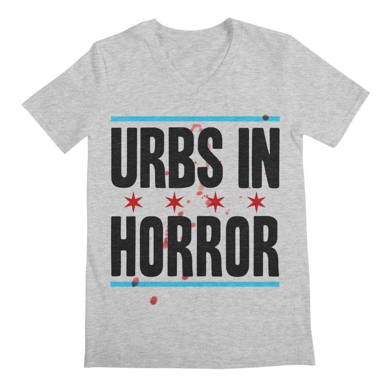 URBS IN HORROR Men's Regular V-Neck by Tony Breed T-Shirt Designs