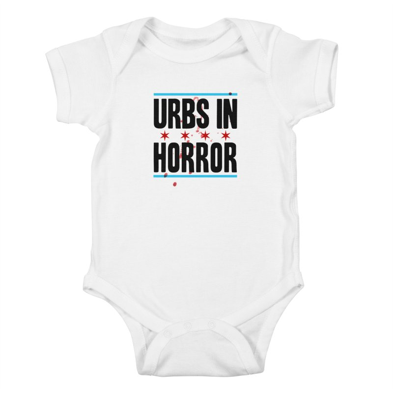 URBS IN HORROR Kids Baby Bodysuit by Tony Breed T-Shirt Designs