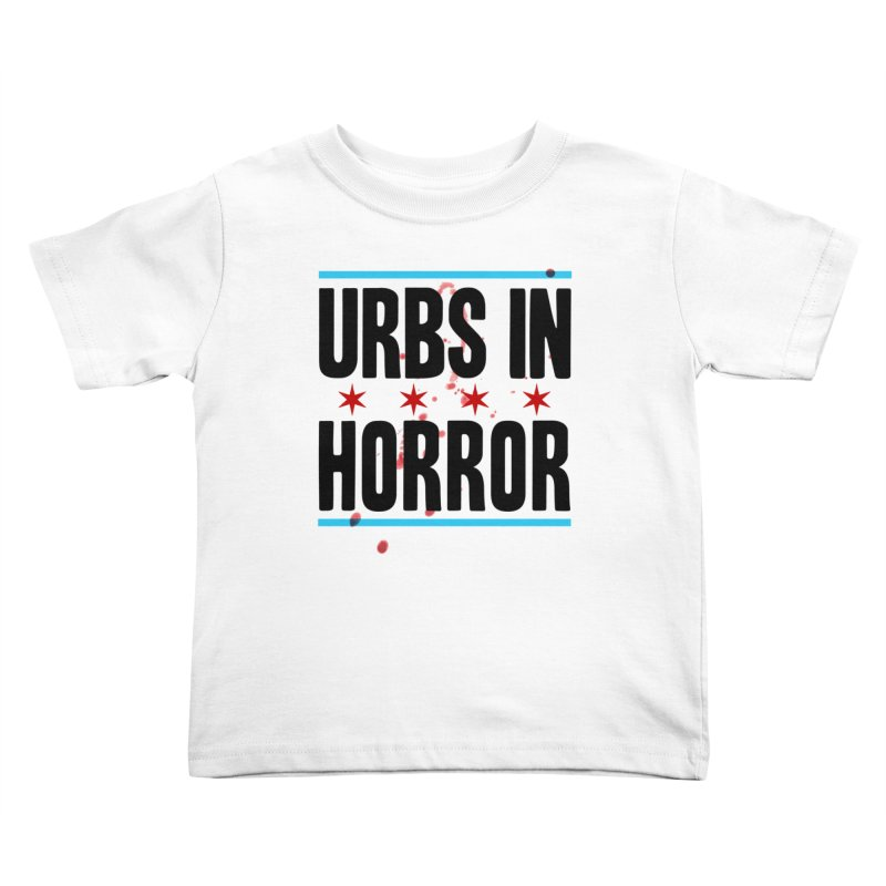 URBS IN HORROR Kids Toddler T-Shirt by Tony Breed T-Shirt Designs