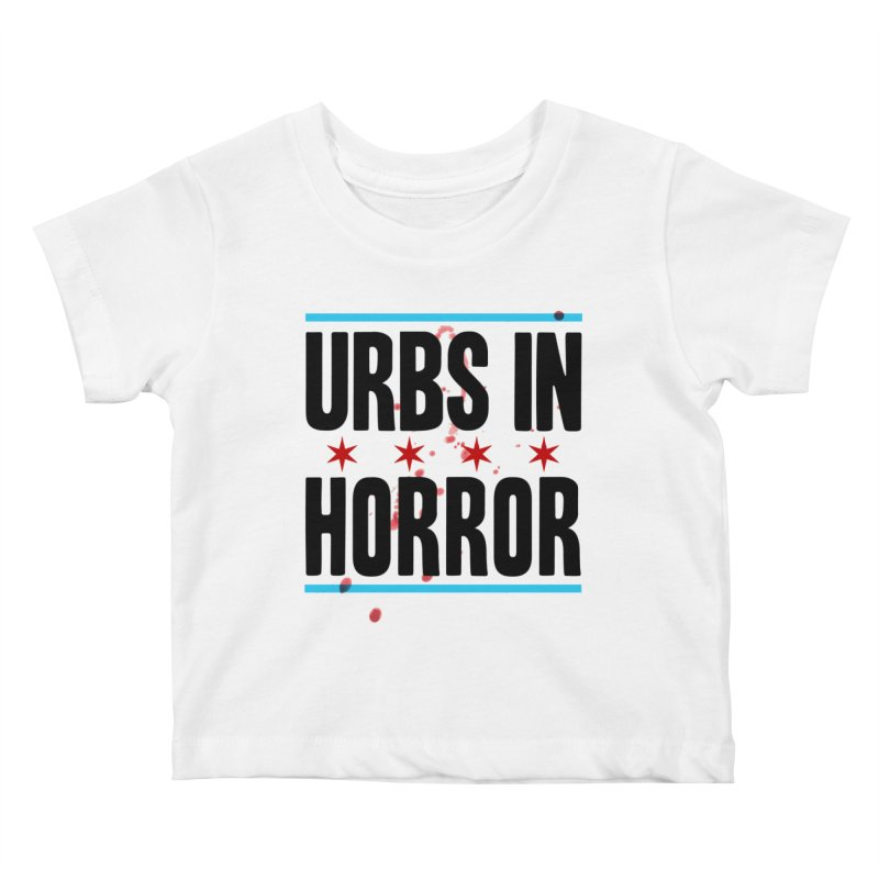 URBS IN HORROR Kids Baby T-Shirt by Tony Breed T-Shirt Designs