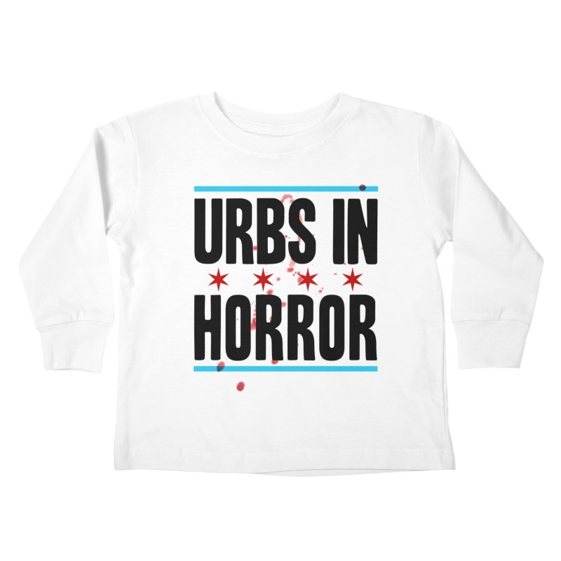 URBS IN HORROR Kids Toddler Longsleeve T-Shirt by Tony Breed T-Shirt Designs