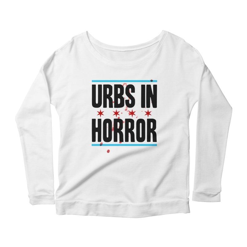 URBS IN HORROR Women's Scoop Neck Longsleeve T-Shirt by Tony Breed T-Shirt Designs