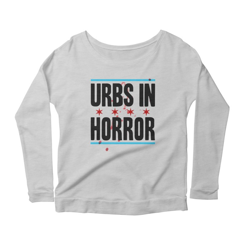 URBS IN HORROR Women's Scoop Neck Longsleeve T-Shirt by Tony Breed T-Shirt Designs