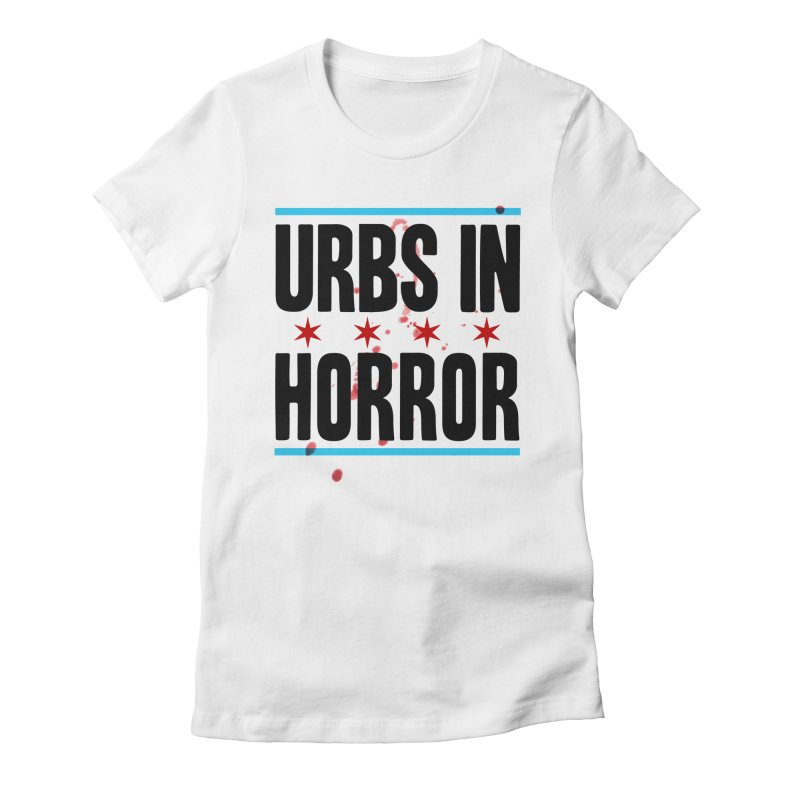 URBS IN HORROR Women's Fitted T-Shirt by Tony Breed T-Shirt Designs