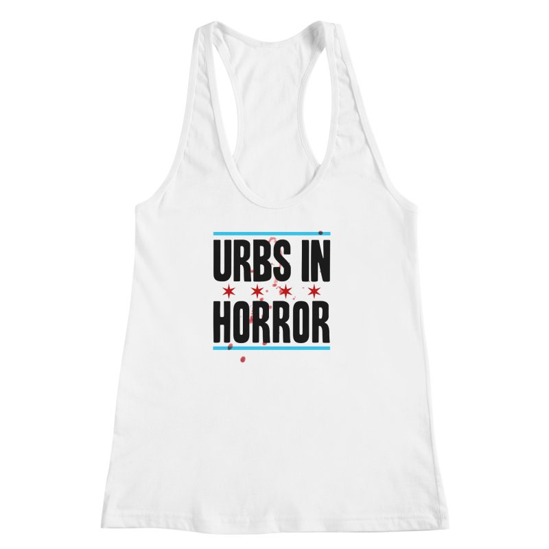 URBS IN HORROR Women's Racerback Tank by Tony Breed T-Shirt Designs