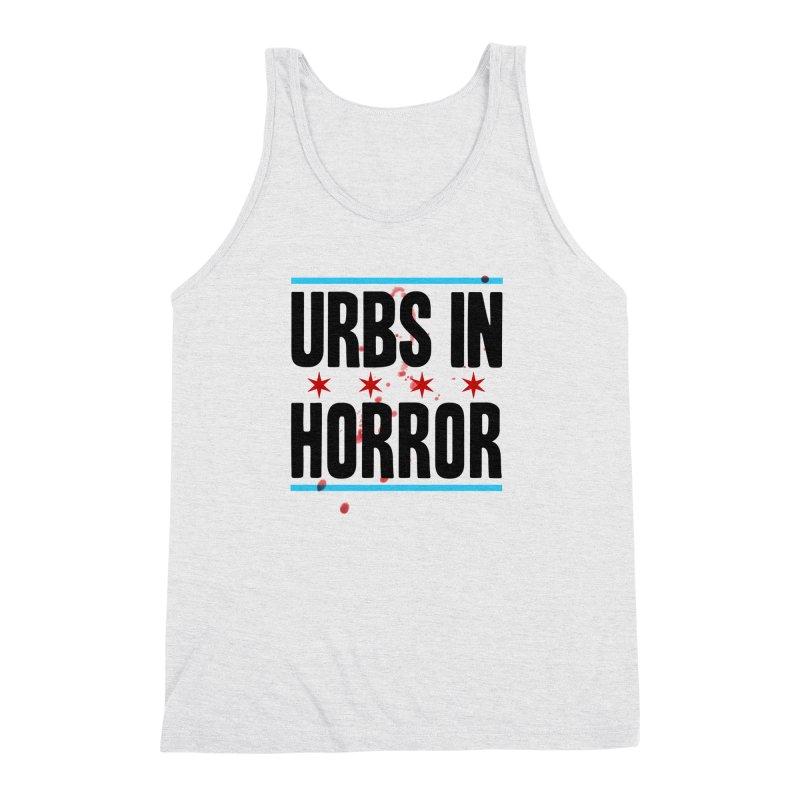 URBS IN HORROR Men's Triblend Tank by Tony Breed T-Shirt Designs