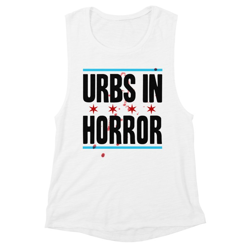 URBS IN HORROR Women's Muscle Tank by Tony Breed T-Shirt Designs