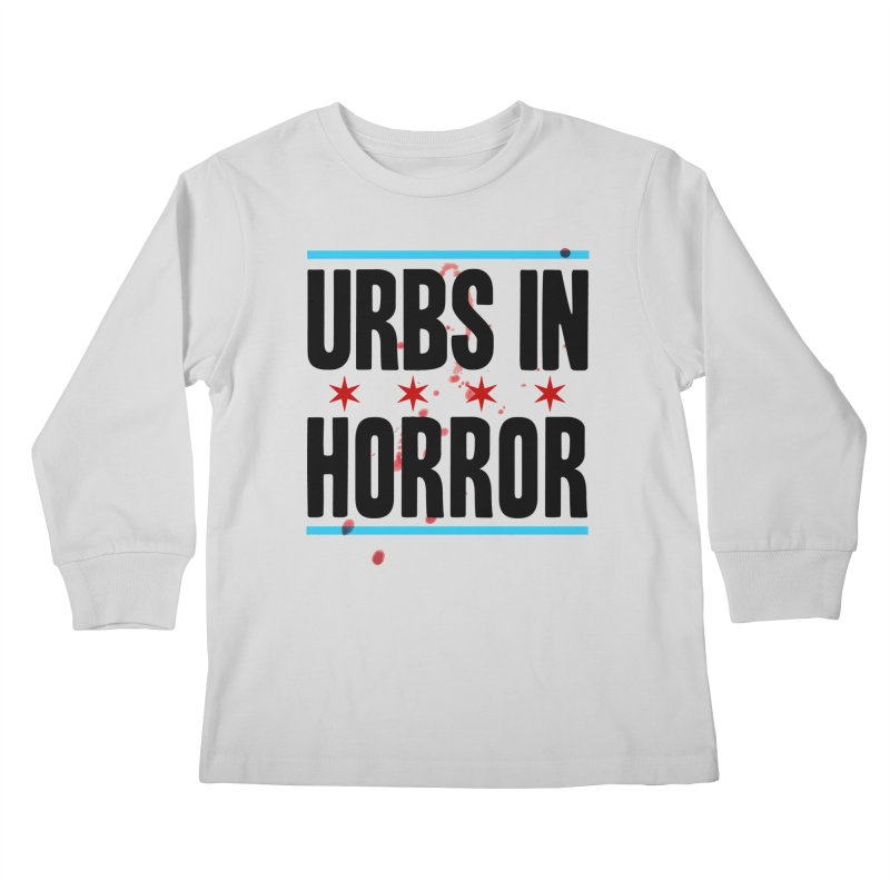 URBS IN HORROR Kids Longsleeve T-Shirt by Tony Breed T-Shirt Designs