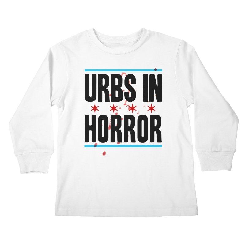 URBS IN HORROR Kids Longsleeve T-Shirt by Tony Breed T-Shirt Designs