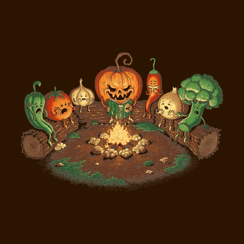 Halloween Tales   by tonycenteno's Artist Shop