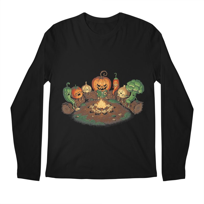 Halloween Tales Men's Longsleeve T-Shirt by tonycenteno's Artist Shop