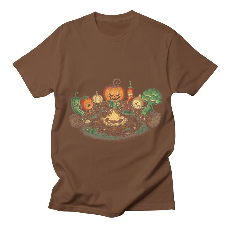 Halloween Tales Men's T-shirt by tonycenteno's Artist Shop