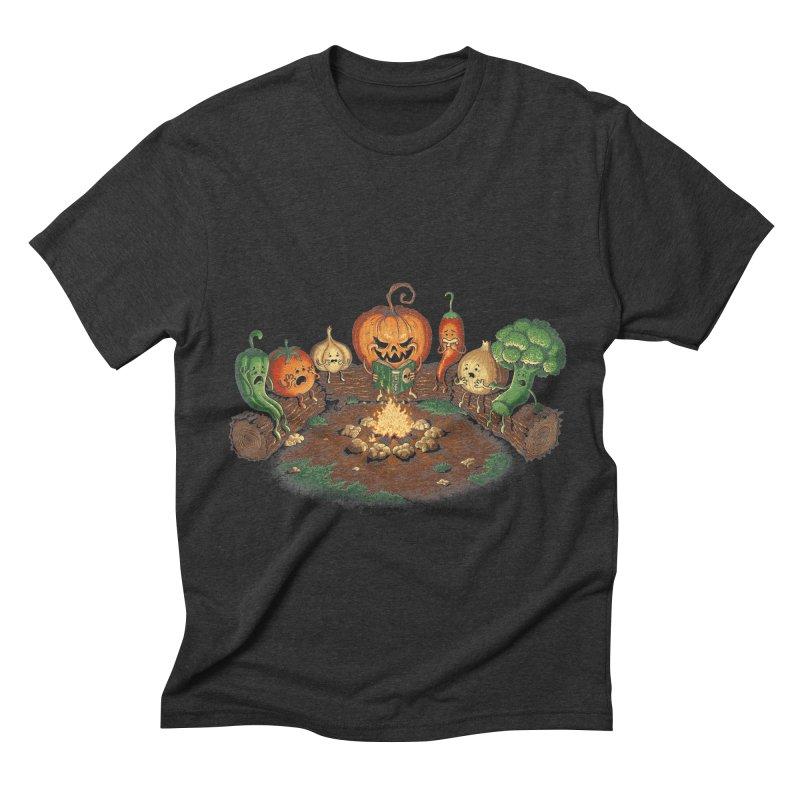 Halloween Tales Men's Triblend T-Shirt by tonycenteno's Artist Shop