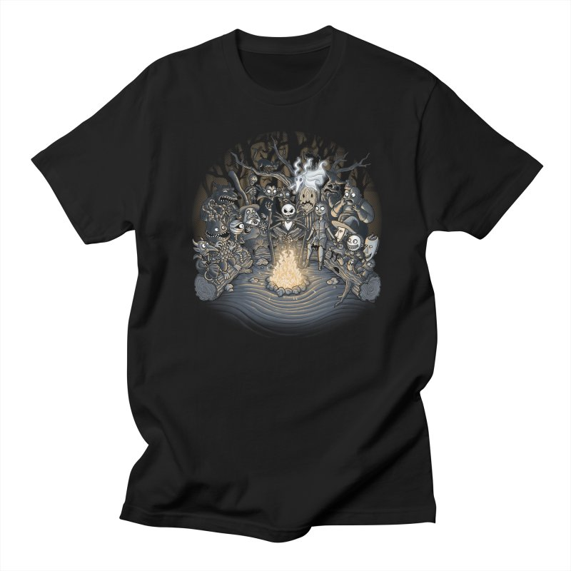 Halloween Tale Men's T-shirt by tonycenteno's Artist Shop