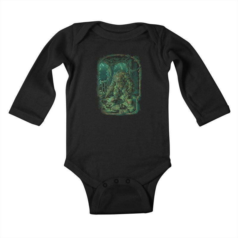 Remember me? Kids Baby Longsleeve Bodysuit by tonycenteno's Artist Shop
