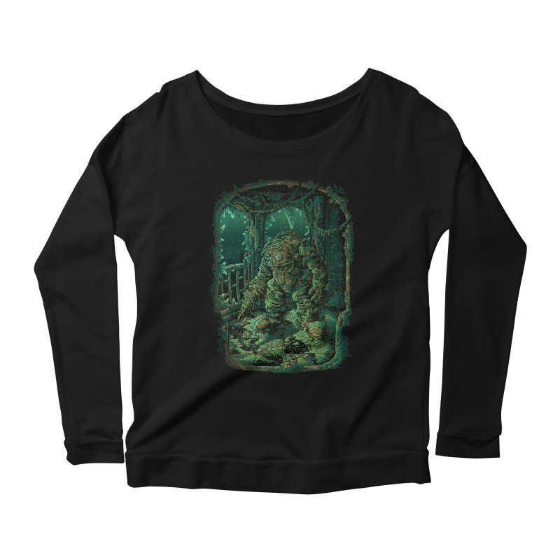 Remember me? Women's Longsleeve Scoopneck  by tonycenteno's Artist Shop
