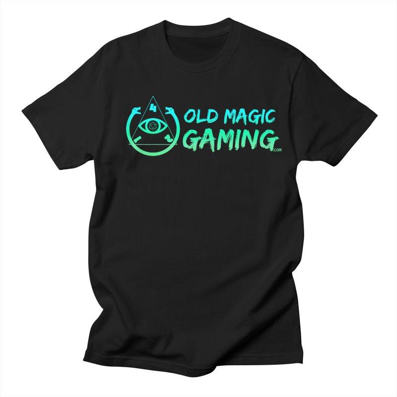 Old Magic Gaming Men's T-Shirt by TonyChromatic's Merch Shop