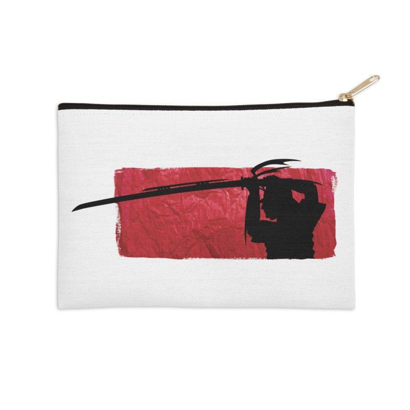 The Legendary Samurai Accessories Zip Pouch by tonydesign's Artist Shop