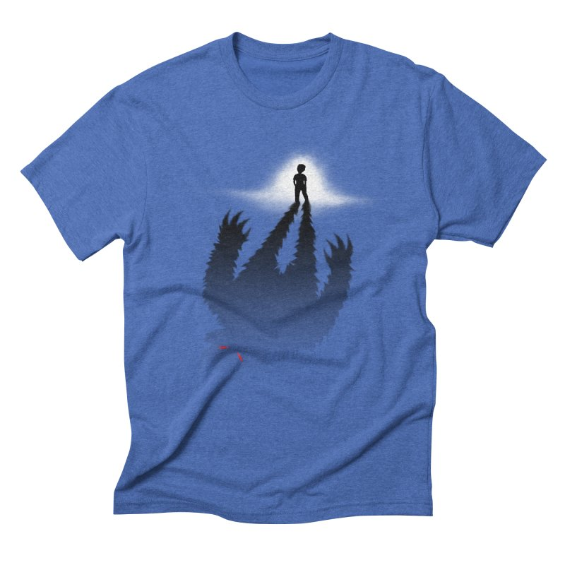 Monster in Me Men's Triblend T-Shirt by tonydesign's Artist Shop