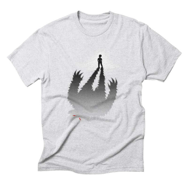 Monster in Me Men's Triblend T-shirt by tonydesign's Artist Shop