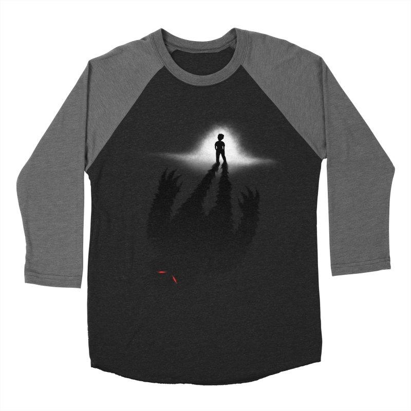 Monster in Me Men's Baseball Triblend T-Shirt by tonydesign's Artist Shop