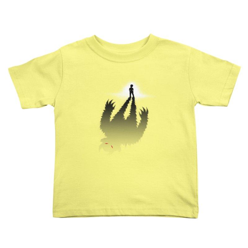Monster in Me Kids Toddler T-Shirt by tonydesign's Artist Shop