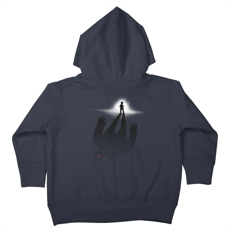 Monster in Me Kids Toddler Zip-Up Hoody by tonydesign's Artist Shop