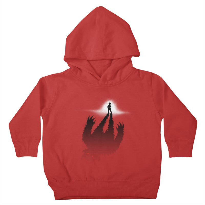 Monster in Me Kids Toddler Pullover Hoody by tonydesign's Artist Shop