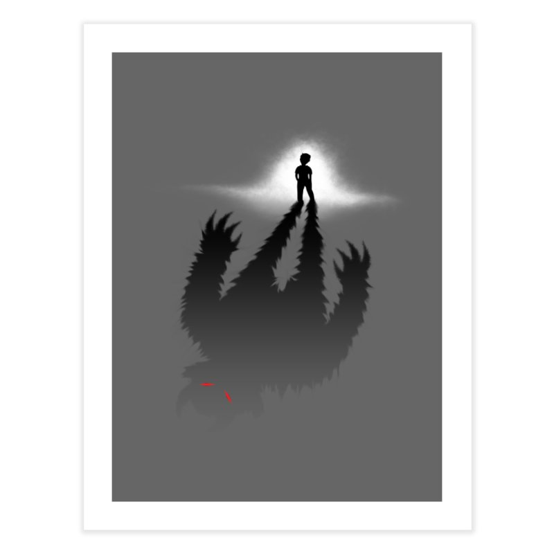 Monster in Me Home Fine Art Print by tonydesign's Artist Shop